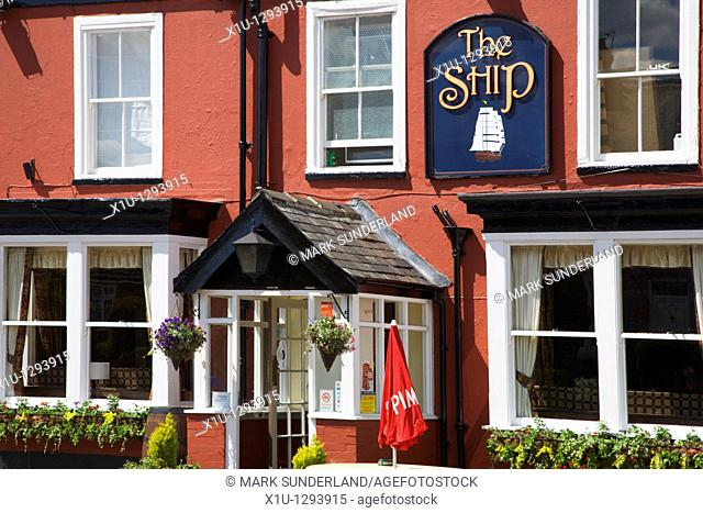 The Ship at Strensall York Yorkshire England