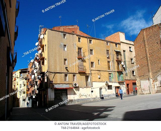 Old city of Lleida, Spain