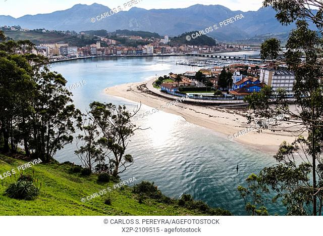 Sella River, Town of Ribadesella, Asturias, Spain