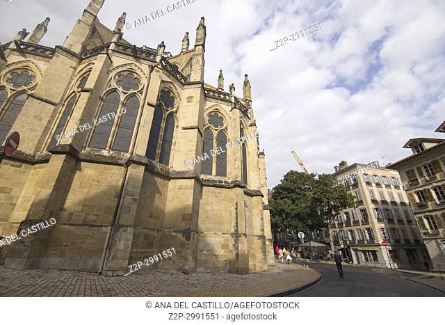 Gothic Cathedral of Saint Mary of Bayonne, Bayonne, French Basque Country, France