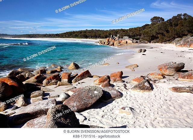 Bay of fires  North East Tasmania, Australia