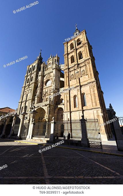 Astorga, Cathedral. Castile and Leon, Province of Leon, Sapin