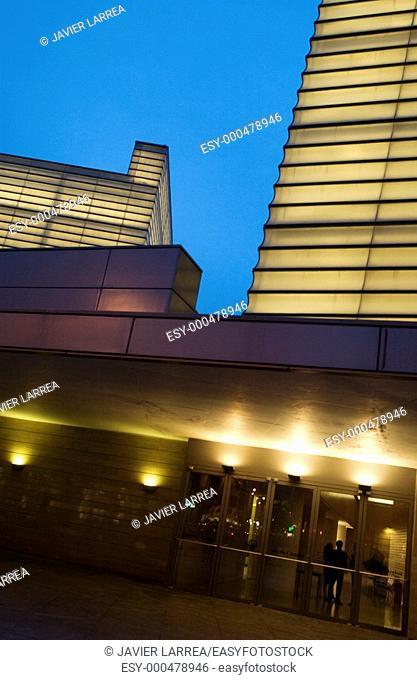 Kursaal Center, by Rafael Moneo, Donostia, San Sebastian, Gipuzkoa, Basque Country, Spain