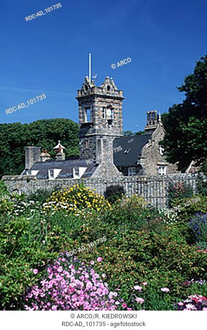 Mansion La Seigneurie Sark Channel Islands Great Britain