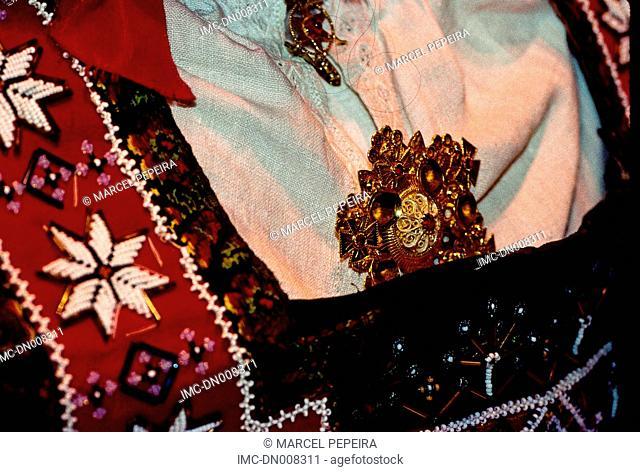 Norway, Bergen, traditional costume