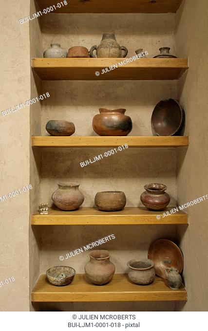 old Native American pots