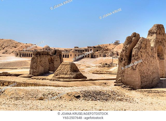 Mortuary Temple of Hatshepsut, Deir el-Bahari, Luxor, Egypt, Africa