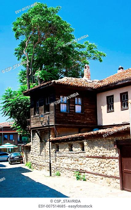 A typical street of the old city of Bulgaria