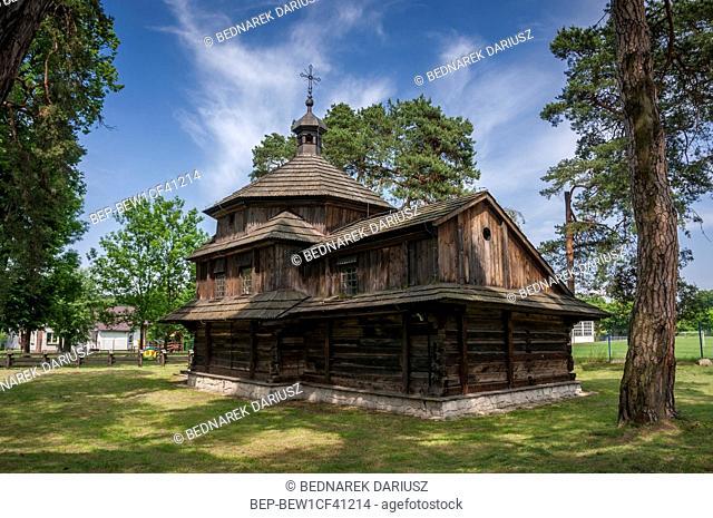 Orthodox church of St. Vasily in Belzec, Lublin Voivodeship, Poland