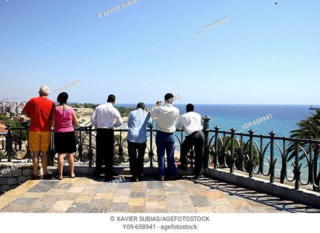 Balcón del Mediterráneo.Tarragona, Catalonia. Spain