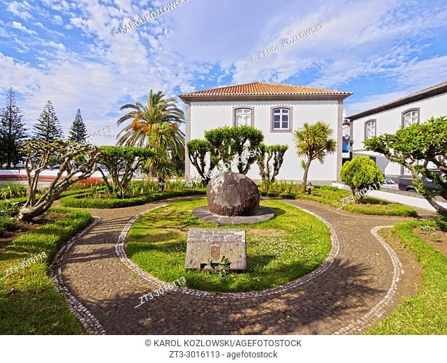 Architecture od Santa Cruz, Graciosa Island, Azores, Portugal