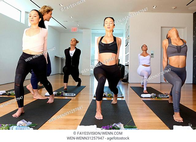 Draya Michele & Friends at AloYoga Featuring: Draya Michele, Serayah McNeill, Brittany Hampton, Martha Michelle, Jasmine Sanders, Vaughn Arthur, Audrey Sicara