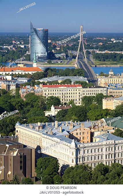 City Skyline, Riga, Latvia