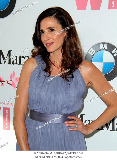 Women In Film 2017 Crystal + Lucy Awards held at The Beverly Hilton Hotel. Featuring: Michaela Watkins Where: Los Angeles, California
