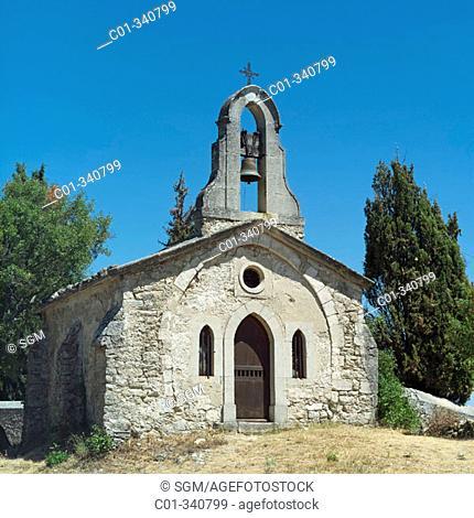 Lurs chapel. Haute-Provence Alps. France