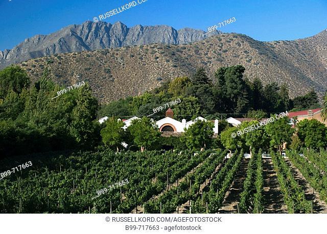 Hacienda Don Maximiano Estate Vina Errazuriz Winery Aconcagua Valley Chile
