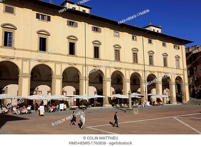 Italy, Tuscany, Arezzo