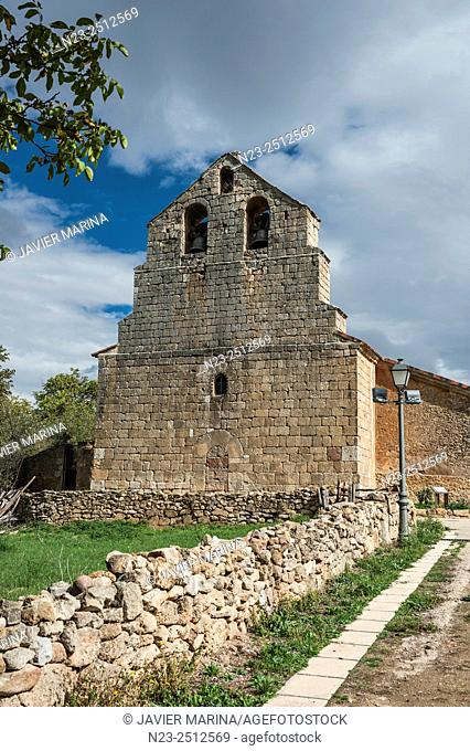 Church of San Pedro, Pedro, Soria province, Castilla-Leon, Spain