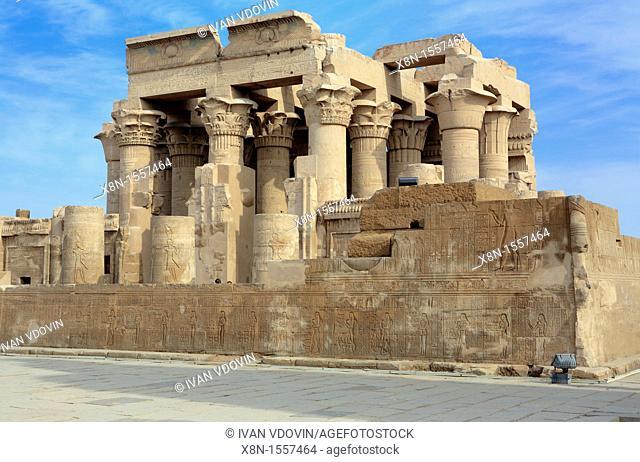 Sobek and Haroeris temple 2nd-1st century BC, Kom Ombo, Egypt