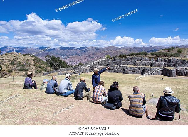 Sacsayhuaman, arguably is the most impressive of all the ancient sites in Peru , Cuzco, Peru