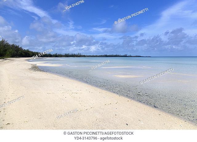 Alabaster Bay, Eleuthera island, Bahamas.
