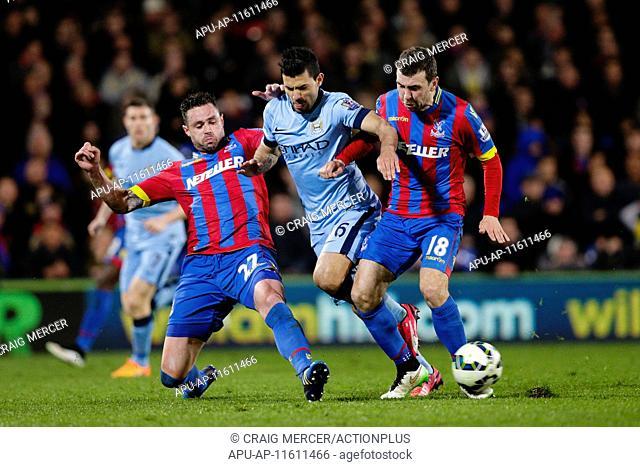 2015 Barclays Premier League Crystal Palace v Manchester City Apr 6th. 06.04.2015. London, England. Barclays Premier League