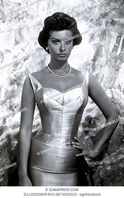 1959, Film Title: THAT KIND OF WOMAN, Director: SIDNEY LUMET, Studio: PARAMOUNT, Pictured: SOPHIA LOREN. (Credit Image: SNAP/ZUMAPRESS.com)