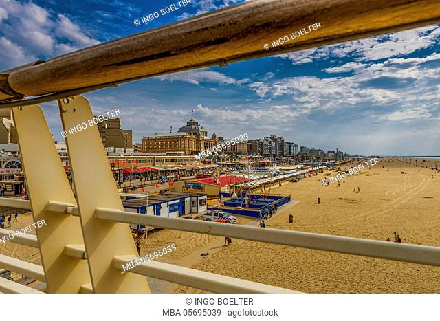 The Netherlands, Den Haag, Scheveningen, seaside resort, beach