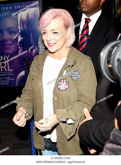 Sheridan Smith seen leaving The Savoy Theatre in London. Featuring: Sheridan Smith Where: London, United Kingdom When: 17 Aug 2016 Credit: WENN.com