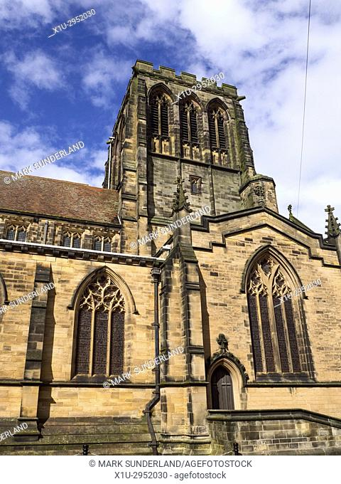 Parish Church of St Hilda in Whitby Yorkshire England