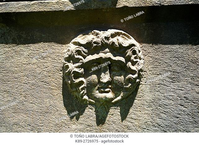Sarcophagus. Aphrodisias. Ancient Greece. Asia Minor. Turkey