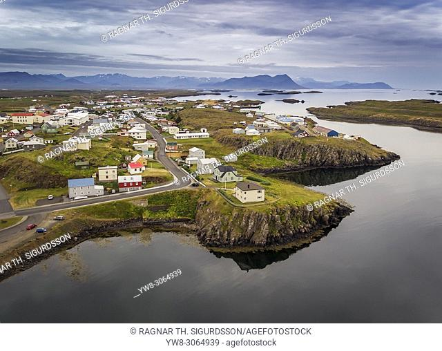 Stykkisholmur, Snaefellsnes, Iceland