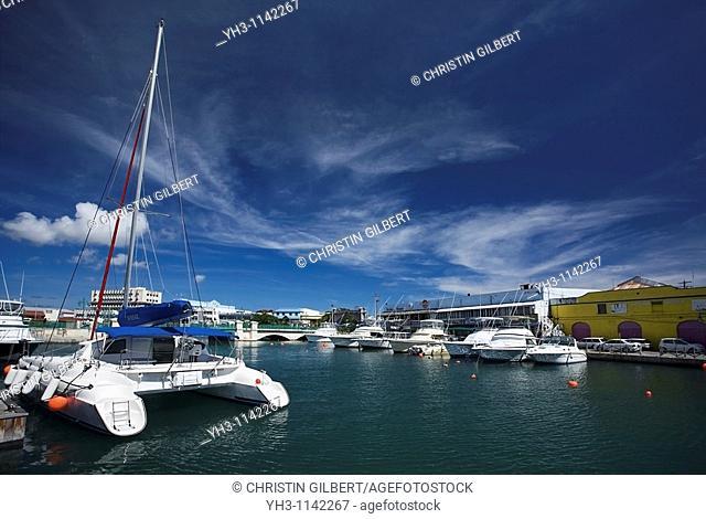 Catamaran cruise at Bridgetown, Capital city of Barbados