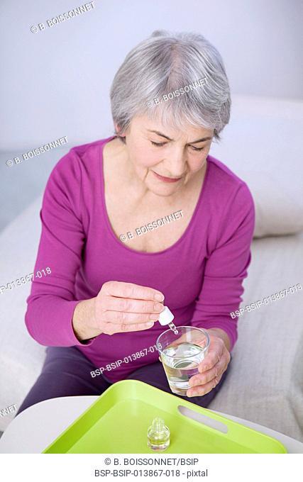 Herbal medicine, elderly person