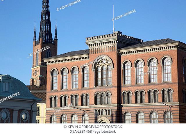Buildings on Riddarholmen Island, Stockholm, Sweden