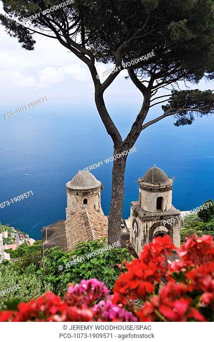 View From Villa Rufolo Gardens