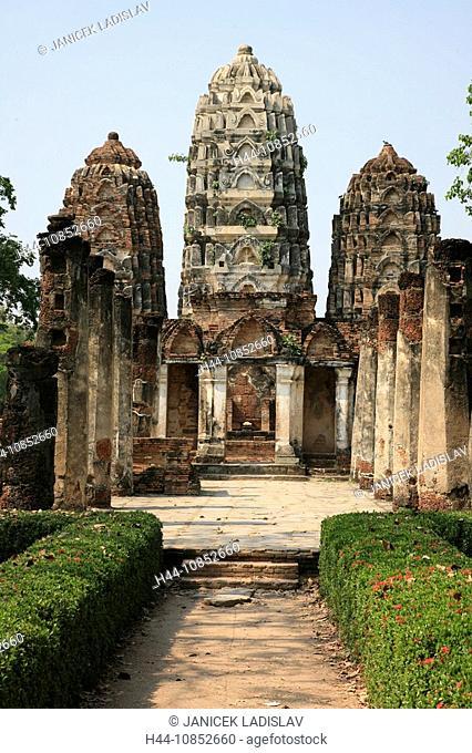 10852660, Thailand, Asia, culture, Sukhothai, Wat