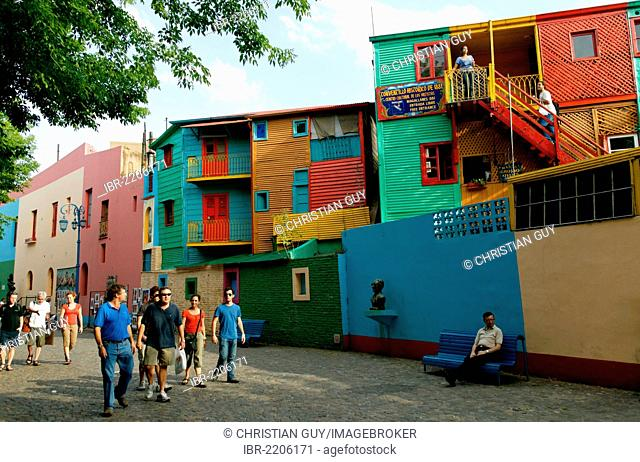 La Boca district, Caminito street, Buenos Aires, Argentina, South America