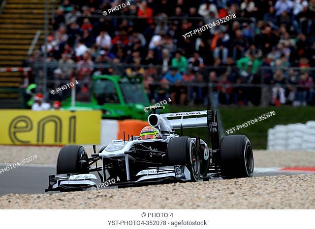 Pastor Maldonado, Friday Practice, Formula One, German Grand Prix, Nurburgring, Germany