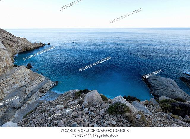 Seychelles Beach, Ikaria island, North Aegean islands, Greece, Europe