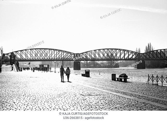River Walk. Prague. Czech Republic