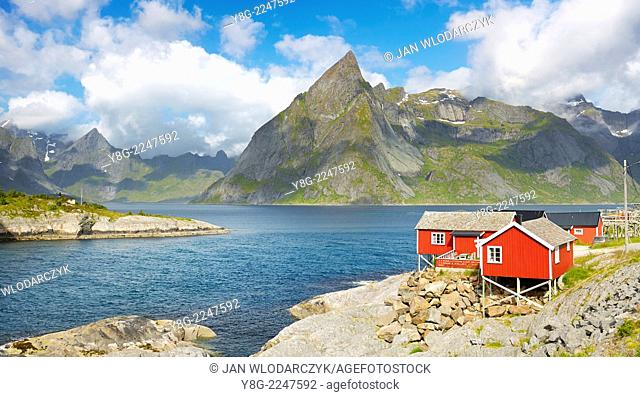 Lofoten Islands, Moskenes, Norway