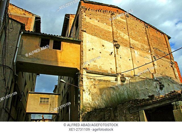 Industrial buildings, Vic, Catalonia, Spain
