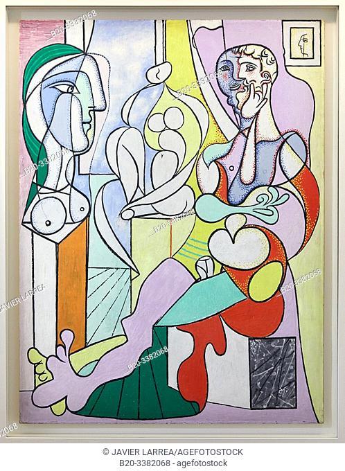 """""""Le Sculpteur"""", 1931, Pablo Picasso, Picasso Museum, Paris, France, Europe"""