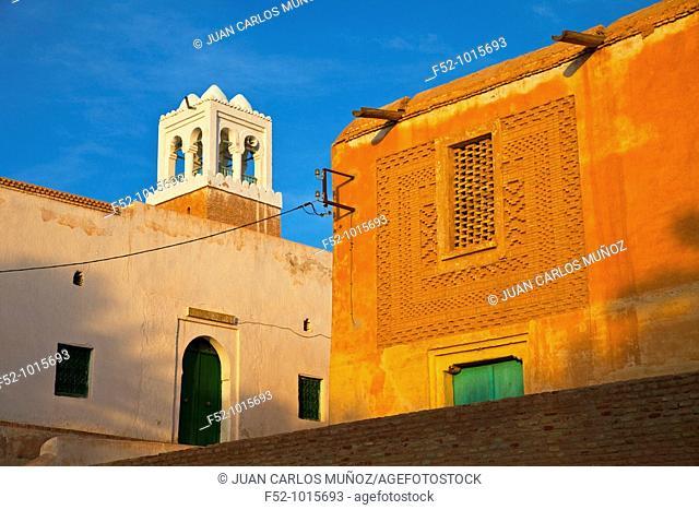 Medina Nefta. Desert of Southern Tunisia. Tunez. Africa