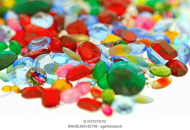 jewels and semi-precious stones