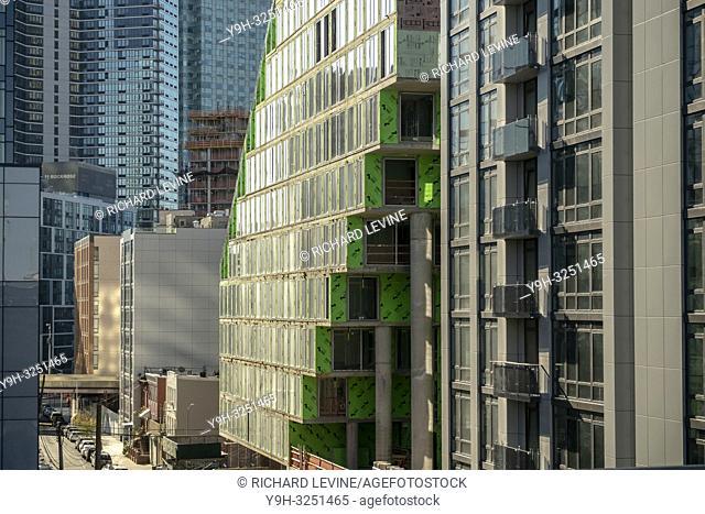 Development in Western Queens off of Queens Plaza in the neighborhood of Long Island City in New York seen on Sunday, November 11, 2018