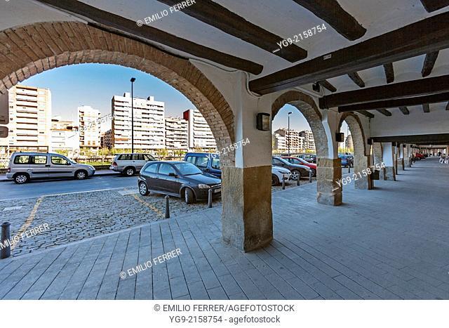 Arches in Balaguer. LLeida. Spain