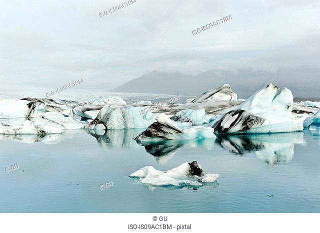 Jokulsarlon glacier lake, Iceland