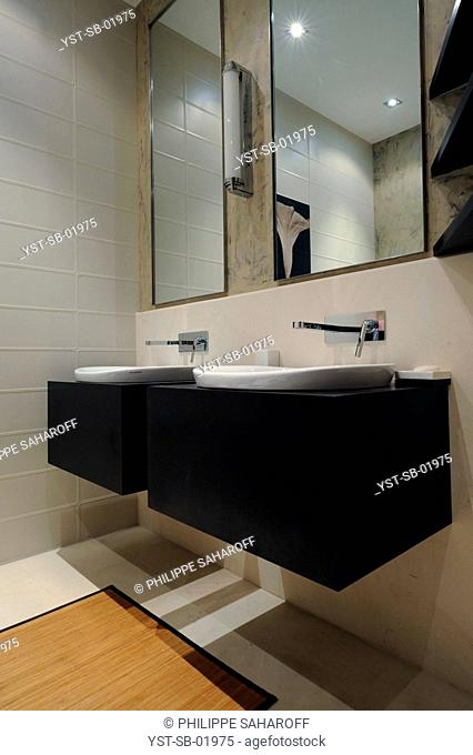 Bathroom, Paris, France